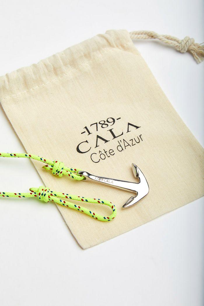 Bracelet Corde Fluo Jaune - ANCRE BRACELET