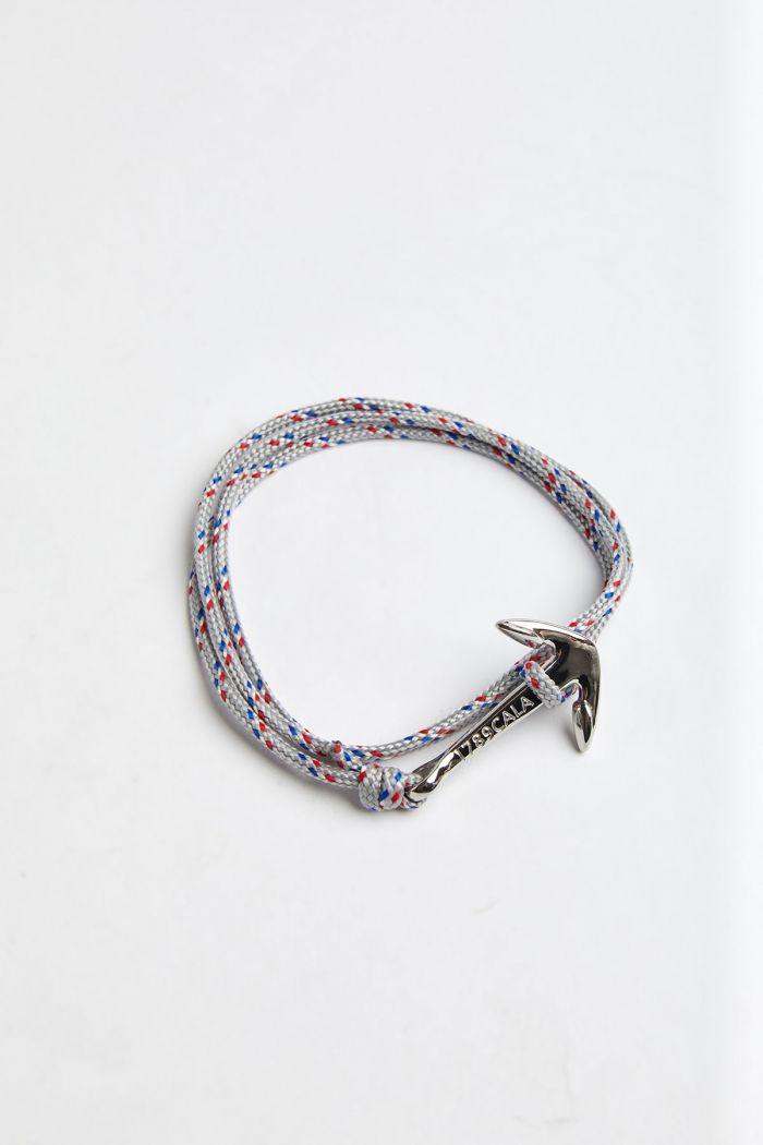 Bracelet Corde Gris Clair - Ancre ANCRE BRACELET