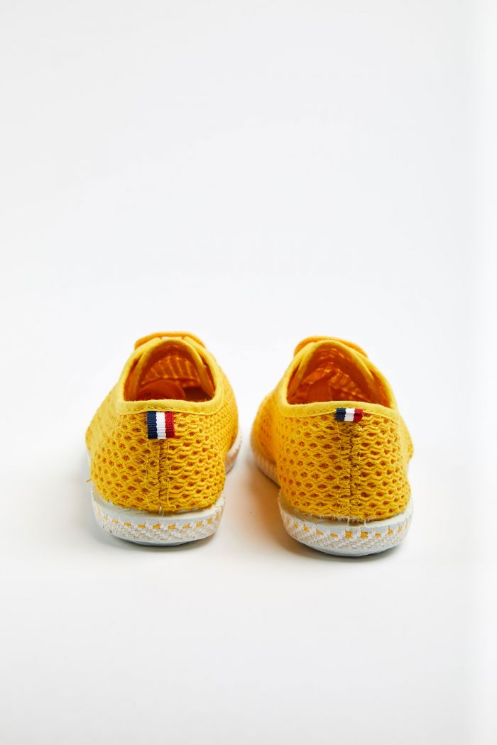 Tennis en toile Riva Héritage Soleil - Enfant K HERITAGE