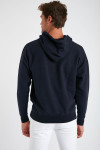 Sweatshirt bleu marine en coton - Océan VINCENTOCEA DICTIO