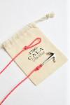 Bracelet Corde Fluo Rose - ANCRE BRACELET