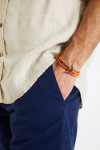 Bracelet Corde Fluo Orange - ANCRE BRACELET