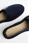 Espadrilles en toile Bleu Marine - Made in France CLASSIQUE UNI