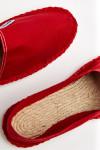Espadrilles en toile Rouge CLASSIQUE UNI