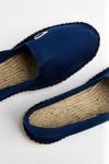 Espadrilles en toile Bleu Indigo CLASSIQUE UNI