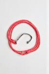 Bracelet Corde Fluo Rose - HAMEÇON BRACELET