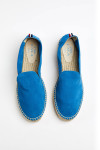 Espadrilles Slip On Double Cuir Bleu SLIPON DOUBLE LEATHER
