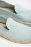 Espadrilles Slip On Cuir Bleu Azur SLIPON LEATHER