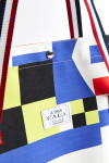 Cabas de plage motif Pavillon Multicolore CABAS PAVILLON