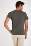 T-shirt manches courtes Kaki écusson TSMC UNICALA