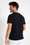 T-shirt bleu marine en coton - Méditerranéen YANNMED DICTIO