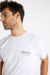 T-shirt blanc en coton - riviera d.n.a YANN MOOREA