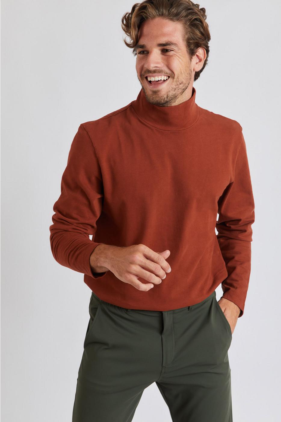 Tshirt Marron ADRIANO PIGNA