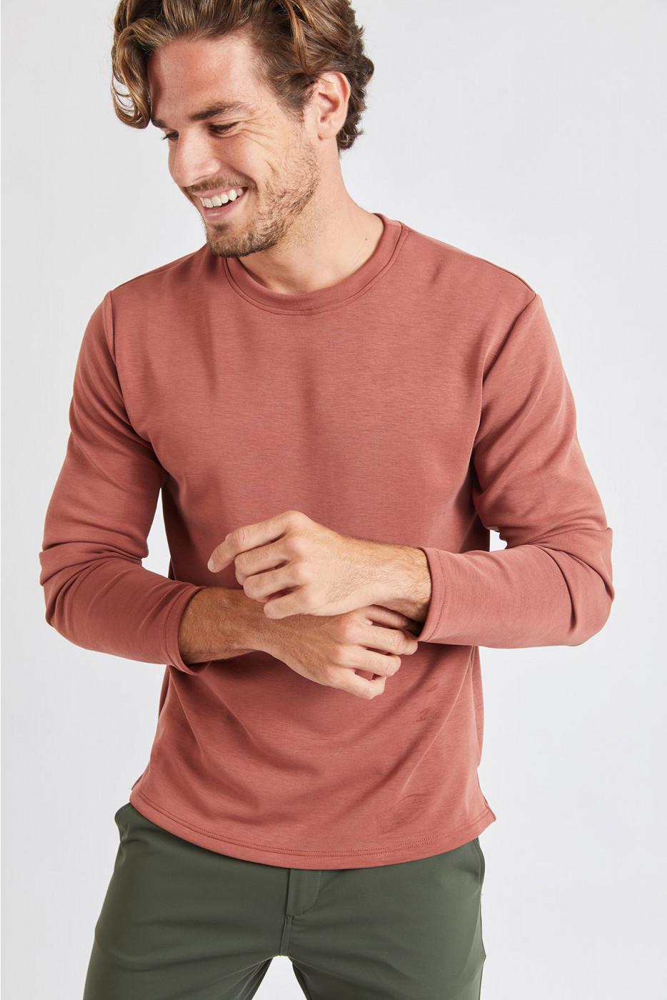 Tshirt marron GINO ALASSIO