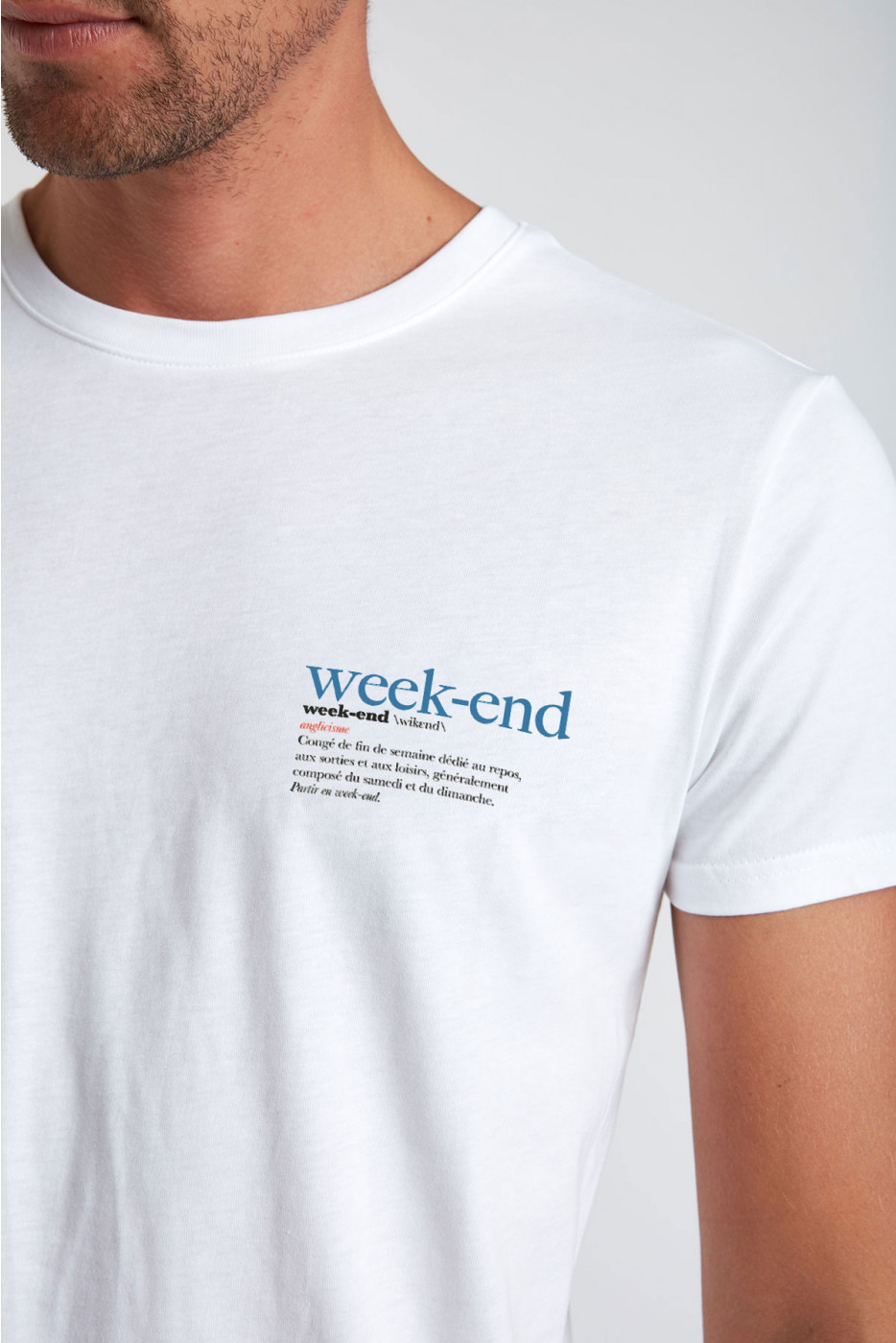 Tshirt Blanc YANNWEE DICTIO