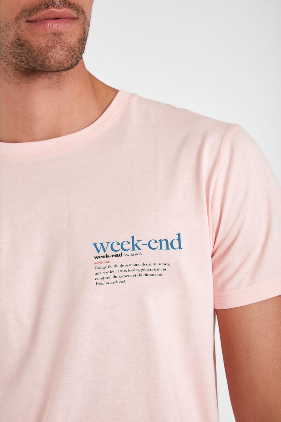 Tshirt Rose YANNWEE DICTIO