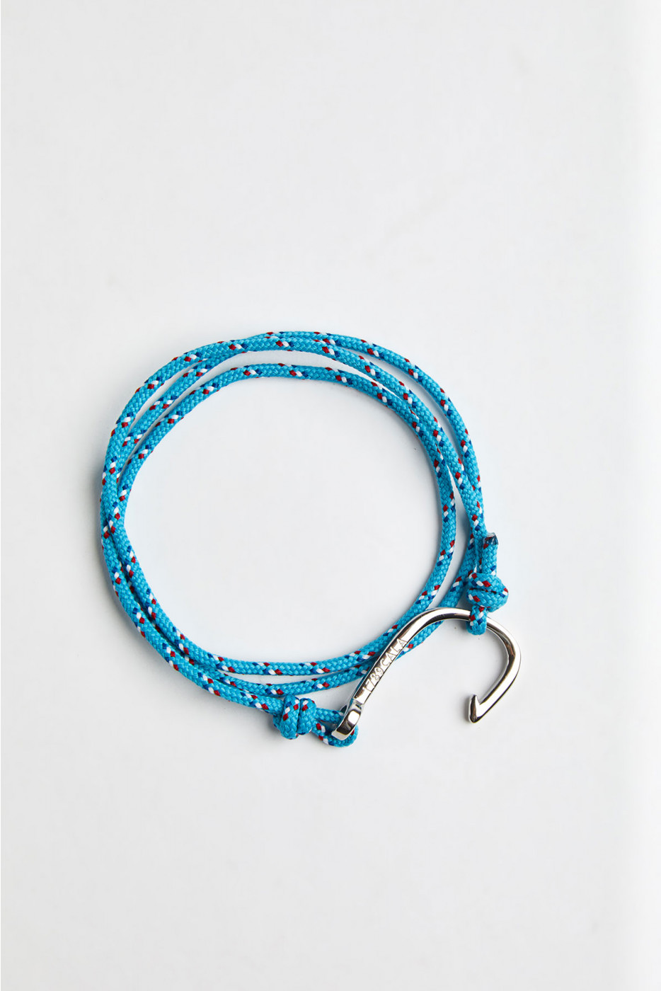 Bracelet Corde Turquoise - HAMEÇON BRACELET