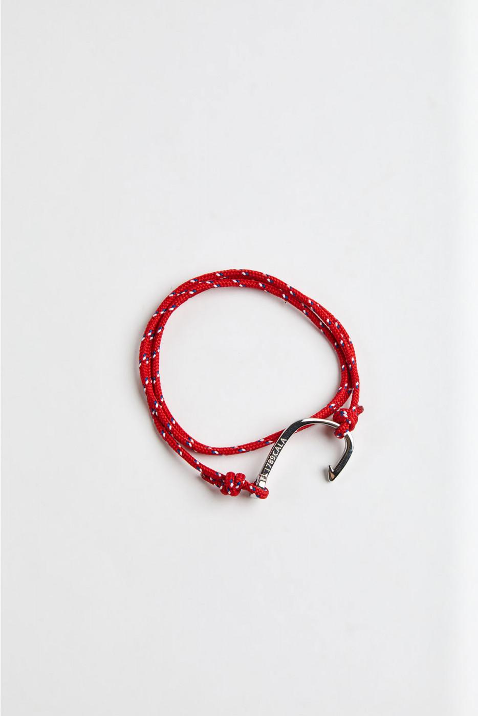Bracelet Corde Rouge - HAMEÇON BRACELET