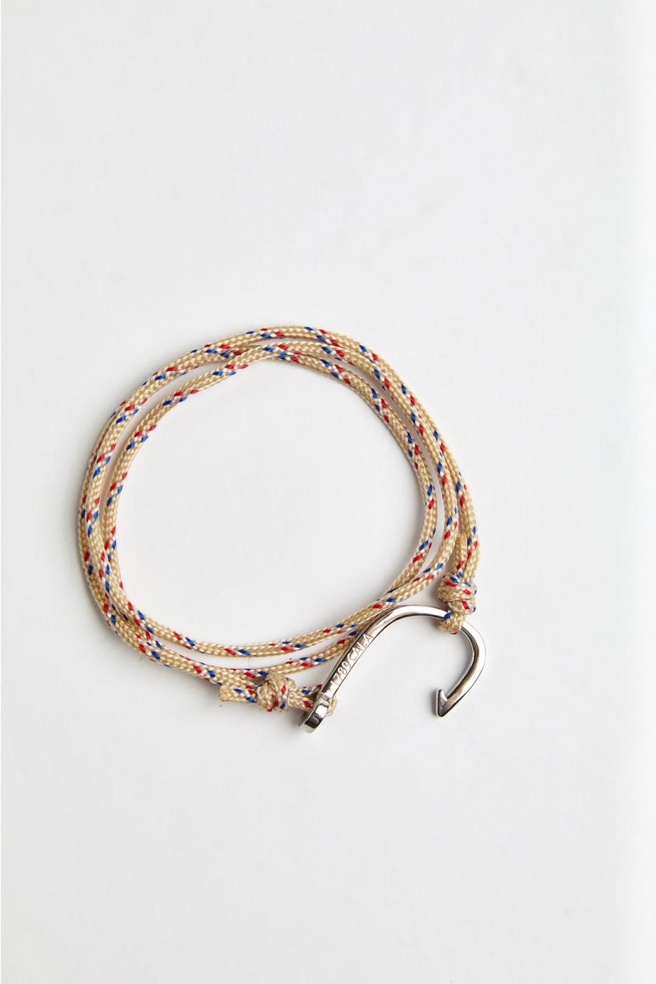 Bracelet Corde Sable - HAMEÇON BRACELET