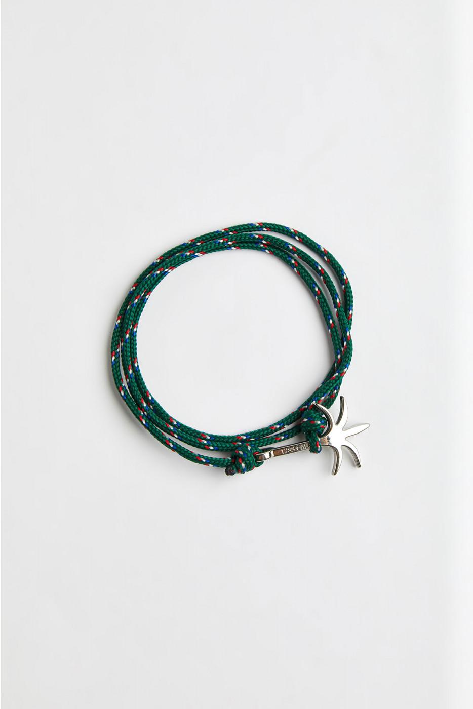 Bracelet Corde Émeraude - PALMIER BRACELET
