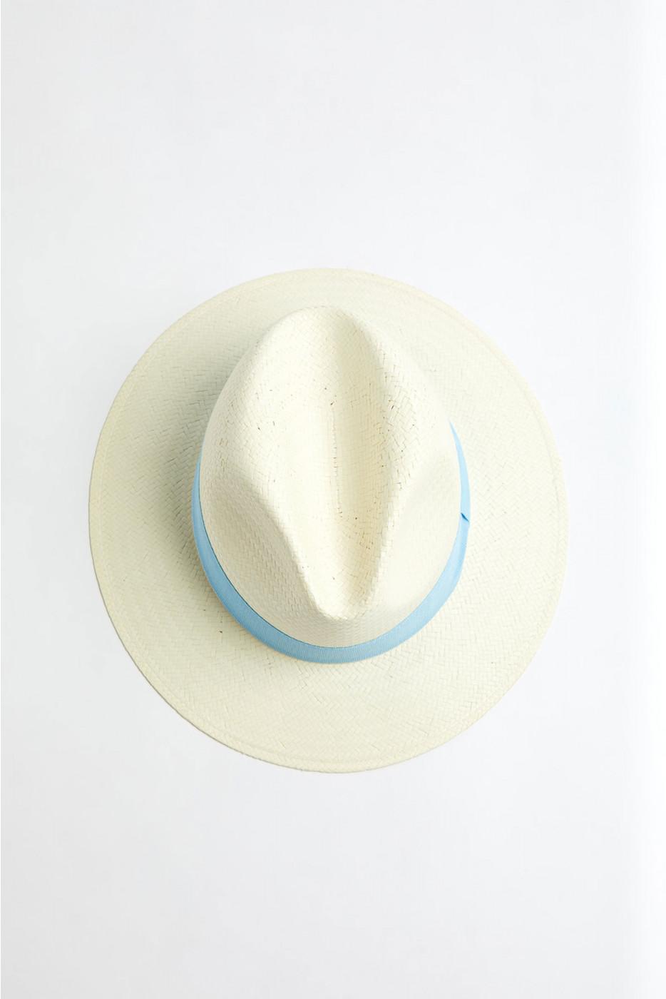 Chapeau de plage Panama Ciel PANAMA CHAPEAU