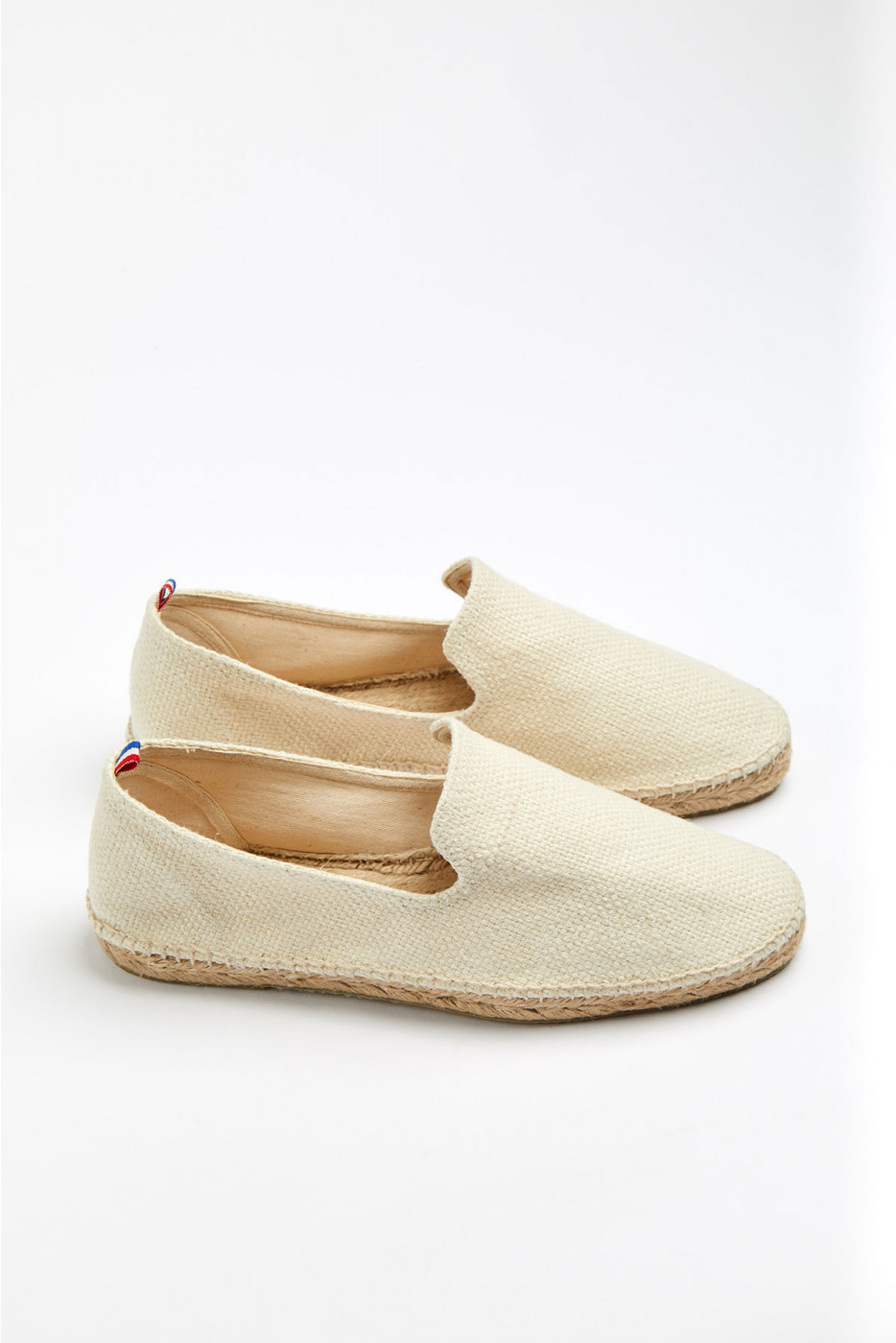 Espadrilles Slip On écru SLIPON COTON