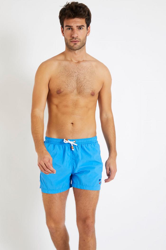 Short de bain bleu turquoise DAVID GINEPRO