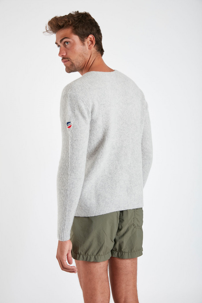Pull gris clair - ROBIN MODEME
