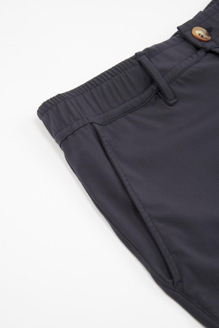 Pantalon en stretch bleu foncé - CHINO LESCUDO