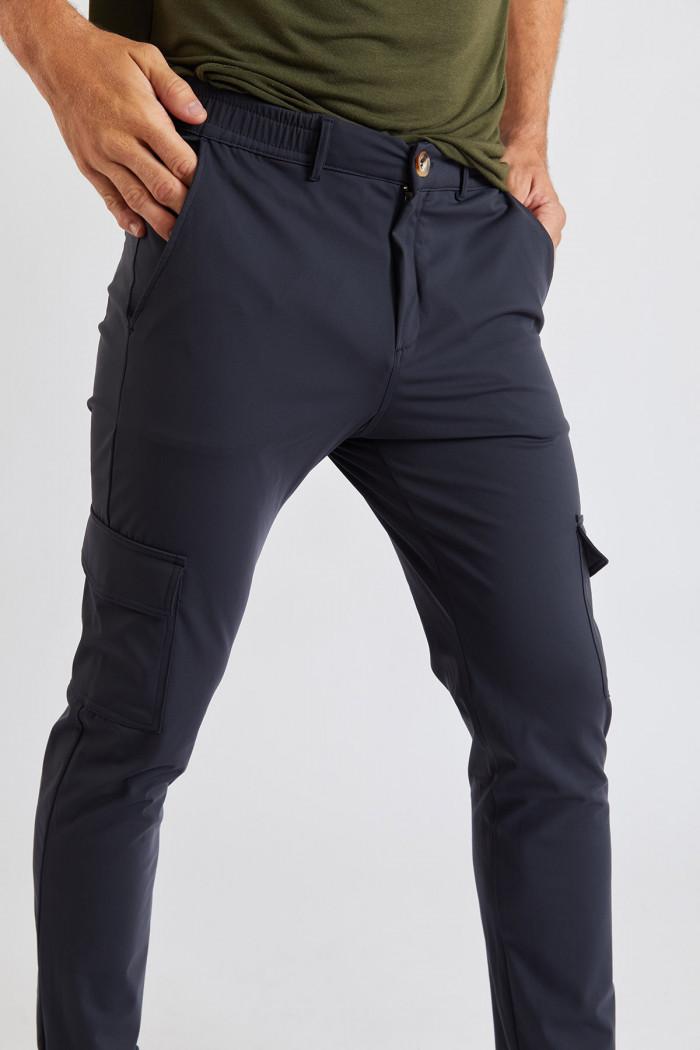 Pantalon Bleu CARGO LESCUDO