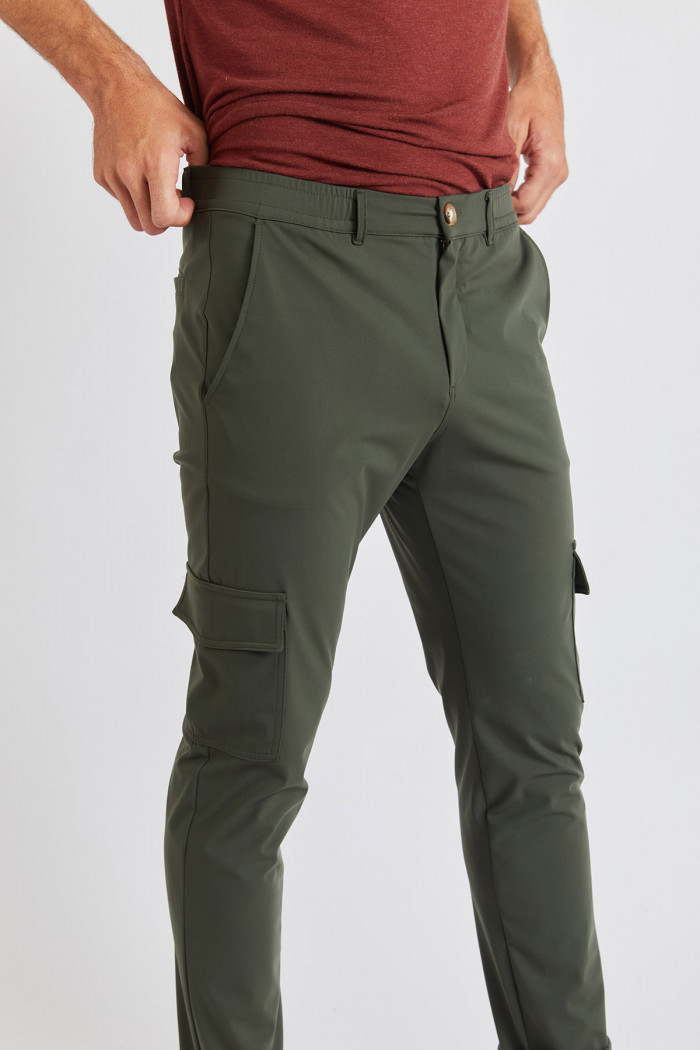 Pantalon Kaki CARGO LESCUDO