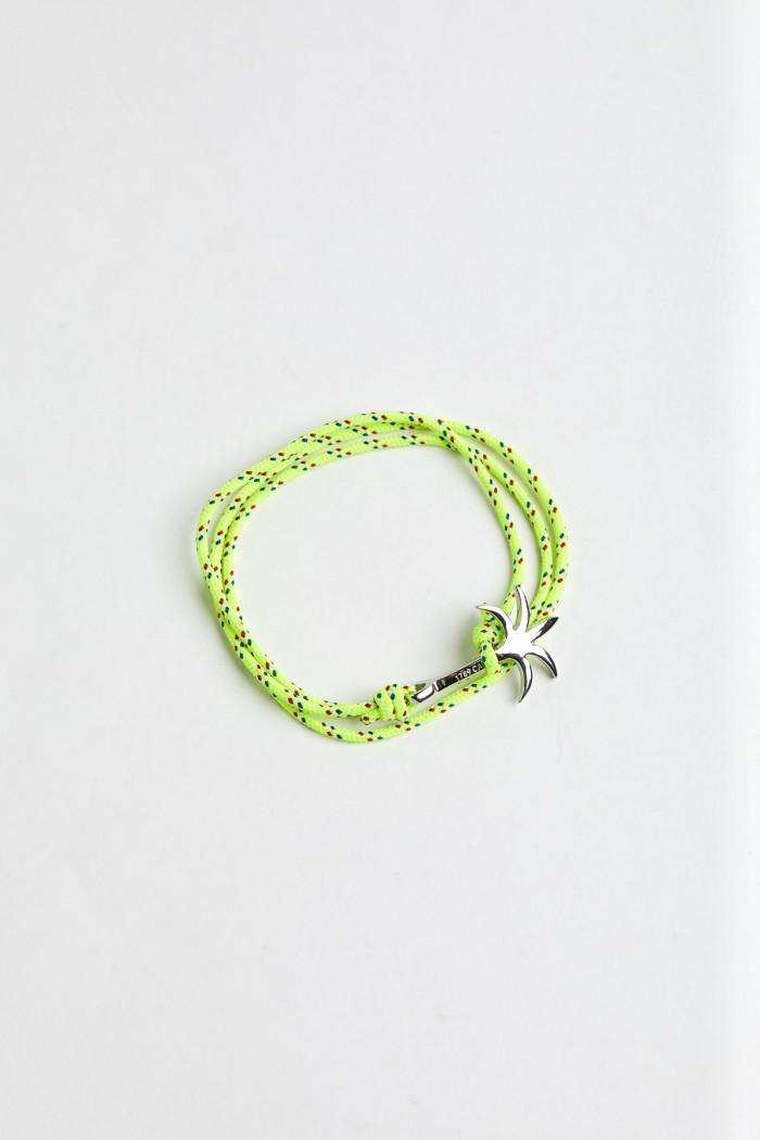 Bracelet Corde Fluo Jaune - PALMIER BRACELET