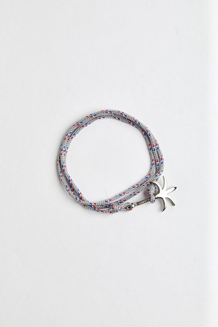 Bracelet Corde Gris Clair - PALMIER BRACELET