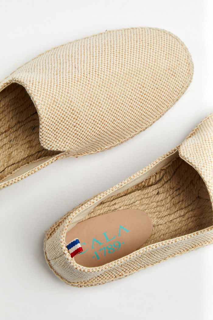 Espadrilles Slip On Sable SLIPON COTON