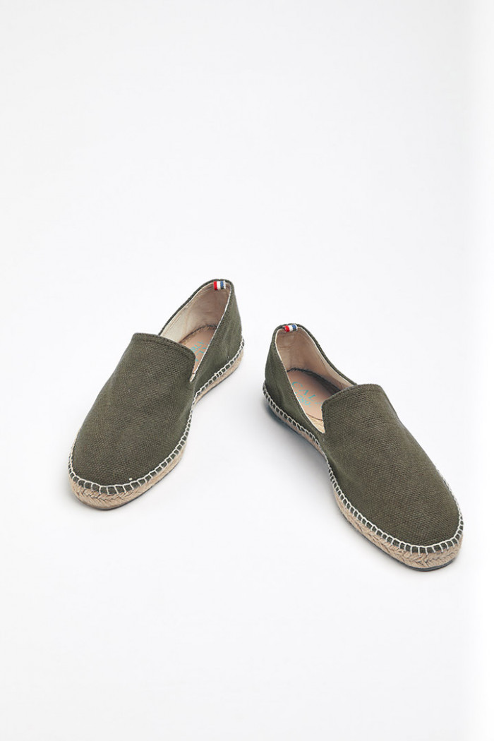 Espadrilles Slip On Kaki SLIPON COTON
