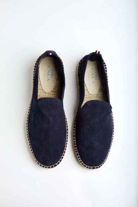 Espadrilles Slip On Cuir Marine SLIPON LEATHER