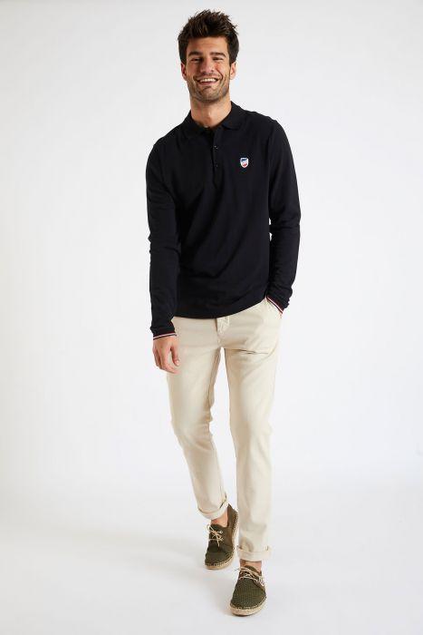 Pantalon en coton beige - CHINO UNI