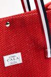 Cabas de plage héritage Rouge CABAS HERITAGE
